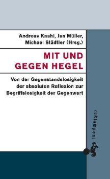 Cover: Mit und gegen Hegel