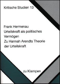 Cover: Urteilskraft als politisches Vermögen