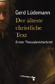 Cover: Der älteste christliche Text