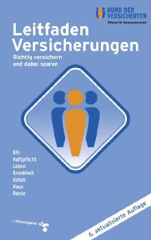 Cover: Leitfaden Versicherungen