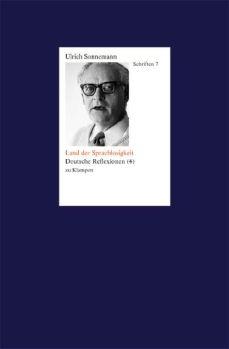 Cover: Land der Sprachlosen. Schriften 7