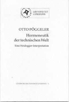 Cover: Hermeneutik der technischen Welt