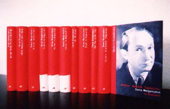 Cover: Werke in Einzelbänden