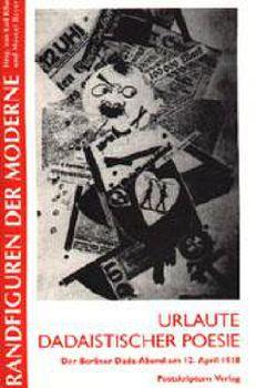 Cover: Urlaute dadaistischer Poesie