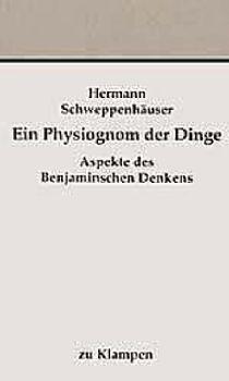 Cover: Ein Physiognom der Dinge