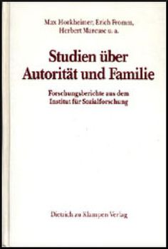 Cover: Studien über Autorität und Familie