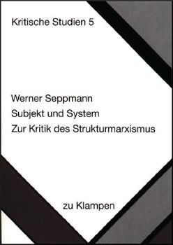 Cover: Subjekt und System