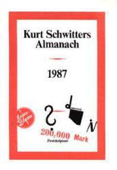 Cover: Kurt Schwitters Almanach
