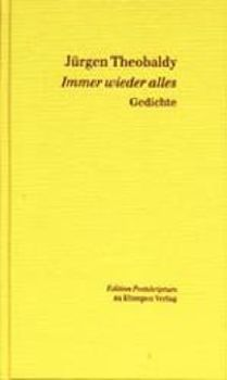 Cover: Immer wieder alles