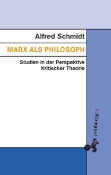 Cover: Marx als Philosoph