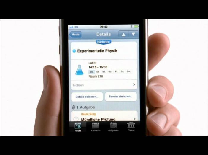 »Der Wolkenkoffer« in der aktuellen Fernsehwerbung von Apple