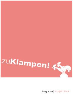 Cover: zu Klampen! Frühjahr 2019