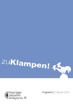 Cover: zu Klampen! Frühjahr 2020