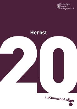 Cover: zu Klampen! Herbst 2020