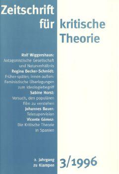 Cover: Zeitschrift für kritische Theorie, Heft 3