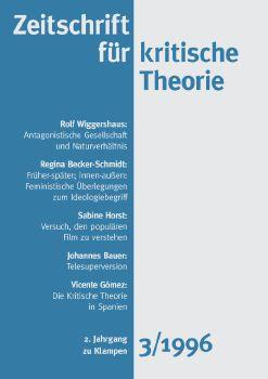 Cover: Zeitschrift für kritische Theorie / Zeitschrift für kritische Theorie, Heft 3