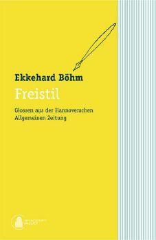 Cover: Freistil