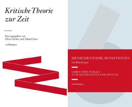 Cover: Kombipack »Kritische Theorie zur Zeit« und »Menschentiere, Sensationen. Ein Bilderbogen«