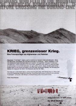 Cover: KRIEG, grenzenloser Krieg.
