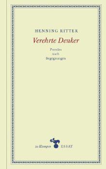 Cover: Verehrte Denker