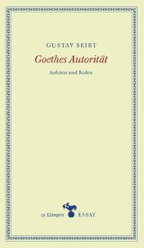 Cover: Goethes Autorität