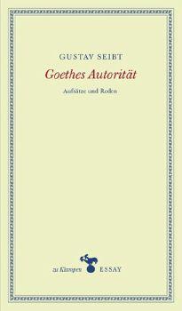 Cover: Goethes Autorität