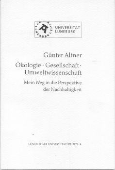 Cover: Ökologie. Gesellschaft. Umweltwissenschaft
