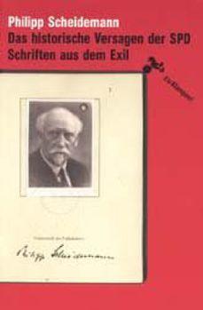 Cover: Das historische Versagen der SPD