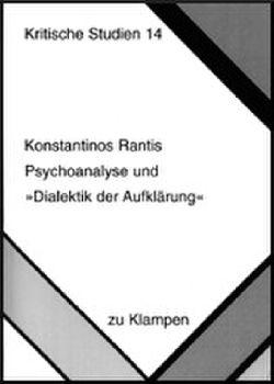 Cover: Psychoanalyse und Dialektik der Aufklärung