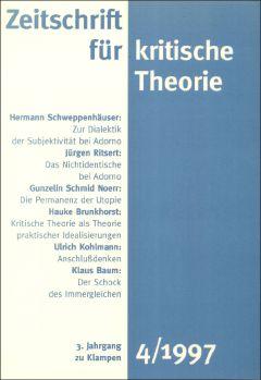 Cover: Zeitschrift für kritische Theorie, Heft 4