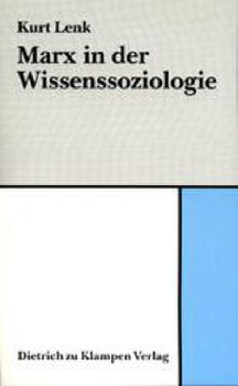Cover: Marx in der Wissenssoziologie
