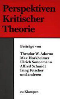 Cover: Perspektiven Kritischer Theorie