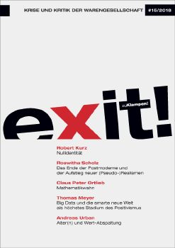 Cover: exit! Krise und Kritik der Warengesellschaft