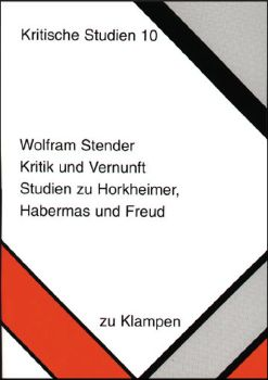 Cover: Kritik und Vernunft