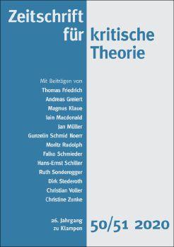Cover: Zeitschrift für kritische Theorie, Heft 50/51
